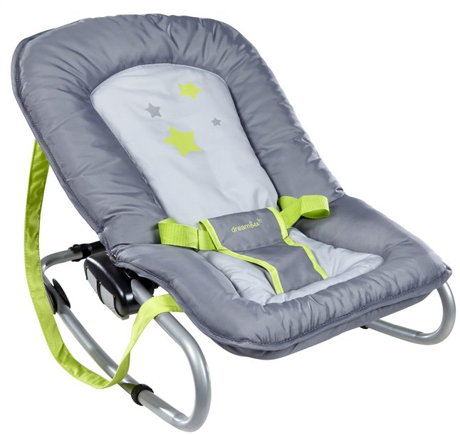 Dreambee Relax Essentials gris/lime