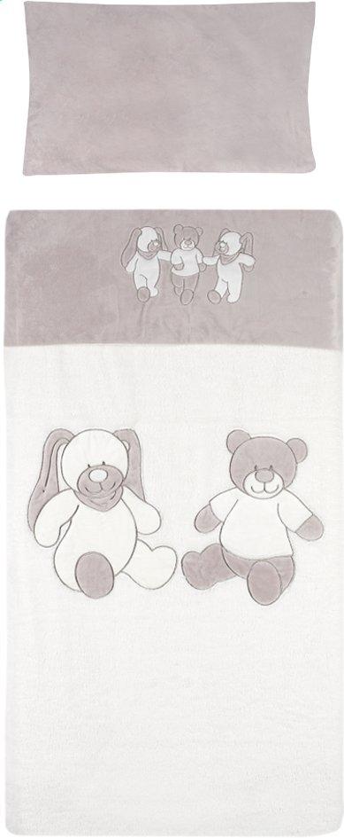 Image pour Drap pour lit Honey & Bunny écru à partir de Dreambaby