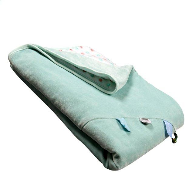 Image pour Snoozebaby Couverture pour berceau ou parc organic mint à partir de Dreambaby