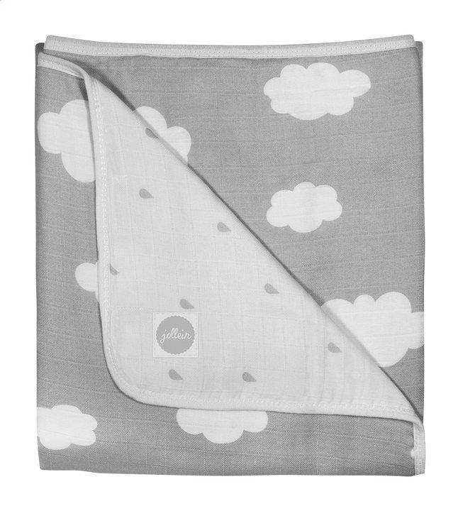 Afbeelding van Jollein Deken voor wieg of park Clouds grey tetra from Dreambaby
