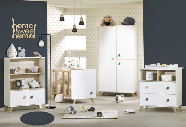 Deuren Voor Kinderkamers : Sauthon delige babykamer met kast met deuren oslo dreambaby