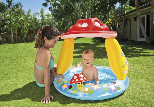 Image pour Intex Piscine pour bébé champignon à partir de Dreambaby