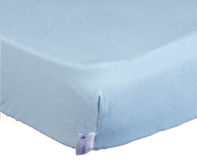Afbeelding van Dreambee Hoeslaken voor bed 140 x 70 cm lichtblauw from Dreambaby
