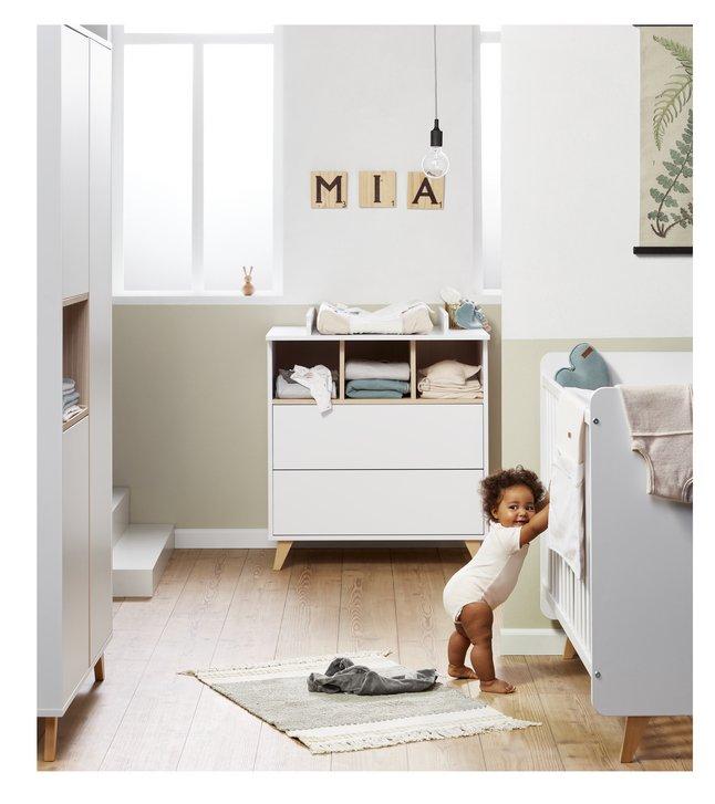 Image pour Quax Chambre de bébé 3 pièces avec armoire 2 portes Loft à partir de Dreambaby