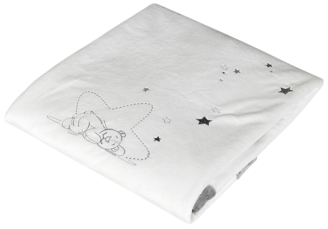 Afbeelding van Noukie's Deken voor wieg of park Poudre d'Étoiles polyester from Dreambaby