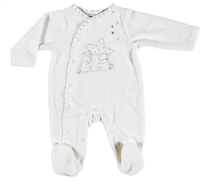 Image pour Noukie's Pyjama Poudre d'Étoiles gris taille 56 à partir de Dreambaby