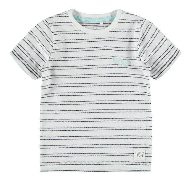 Name it T-shirt met korte mouwen Bright White