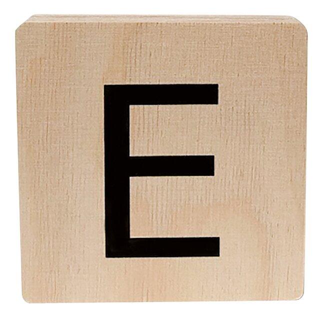 Minimou Houten letter E