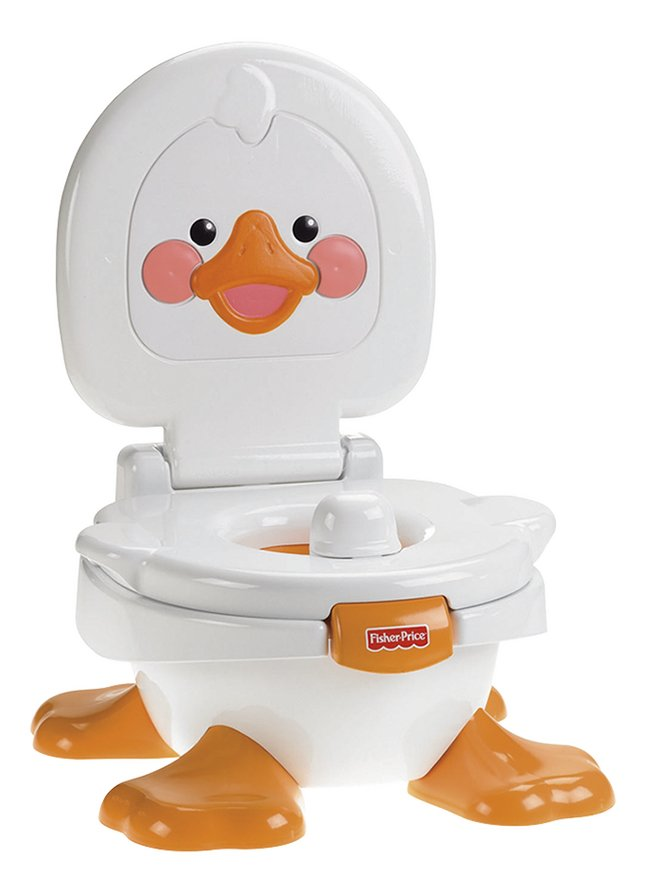 Afbeelding van Fisher-Price 3-in-1 muzikaal potje Ducky potty wit from Dreambaby
