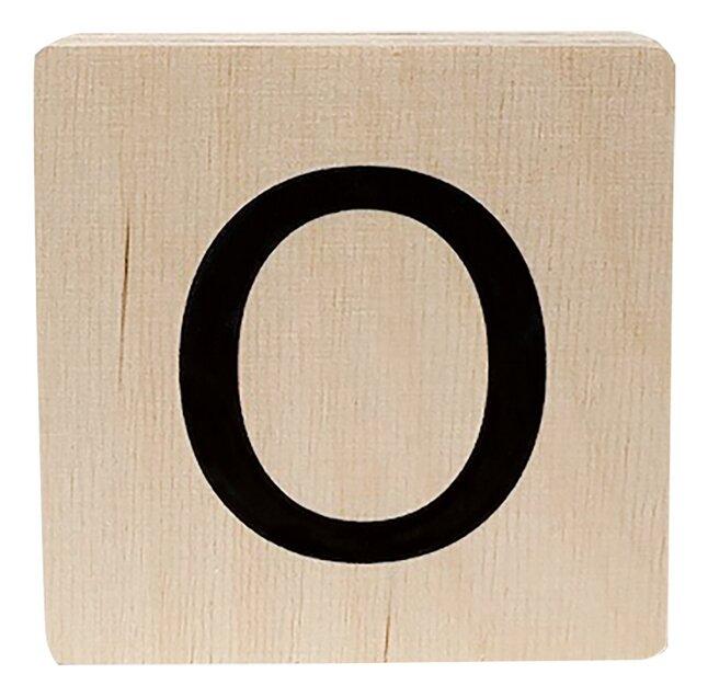 Minimou Houten letter O