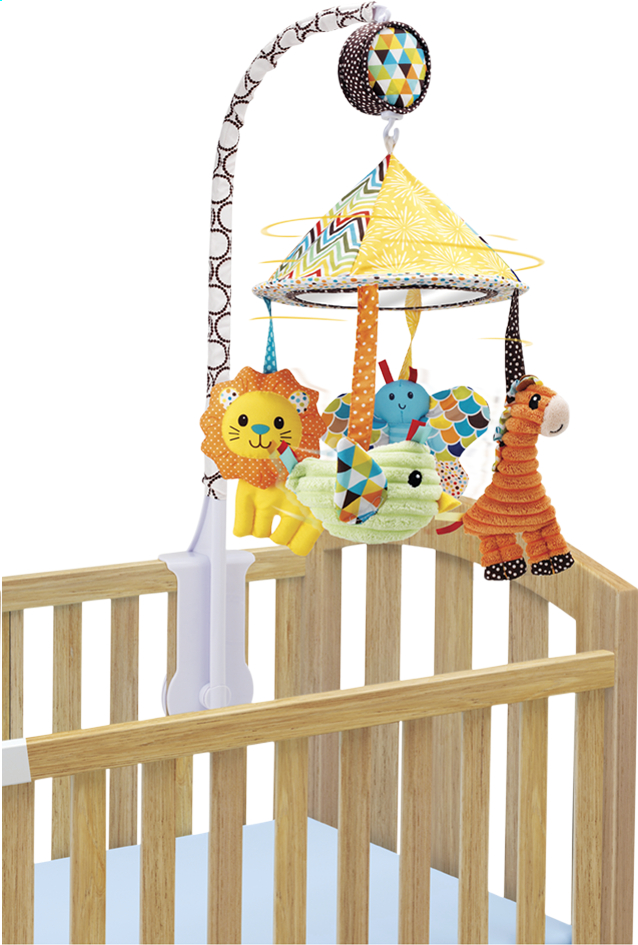 Afbeelding van Infantino Mobiel Go Gaga Carousel from Dreambaby