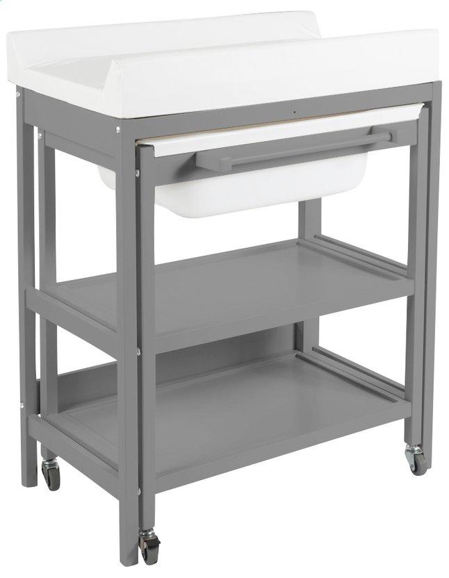 Quax table langer compact smart gris dreambaby - Table a langer compacte ...