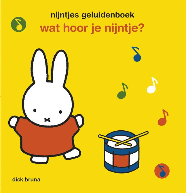 Afbeelding van Nijntjes geluidenboek: Wat hoor je Nijntje? from Dreambaby