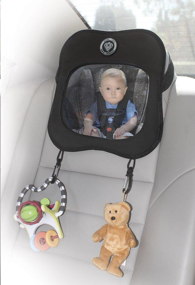 Afbeelding van Prince Lionheart Autospiegel zwart from Dreambaby
