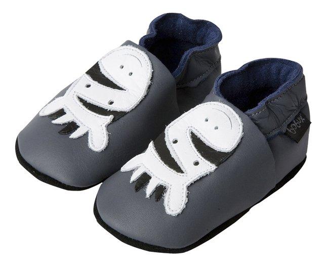 Afbeelding van Bobux Schoentjes Soft soles Zebra grey from Dreambaby