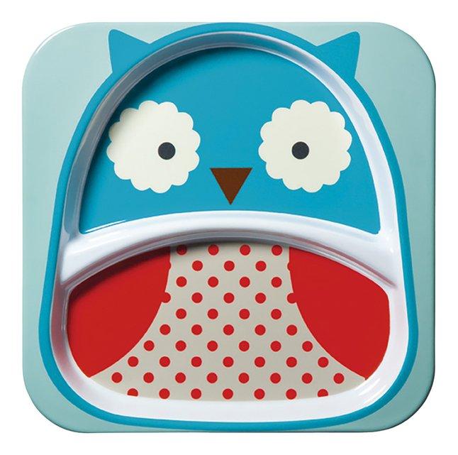 Afbeelding van Skip*Hop Bord met vakken Zoo owl from Dreambaby