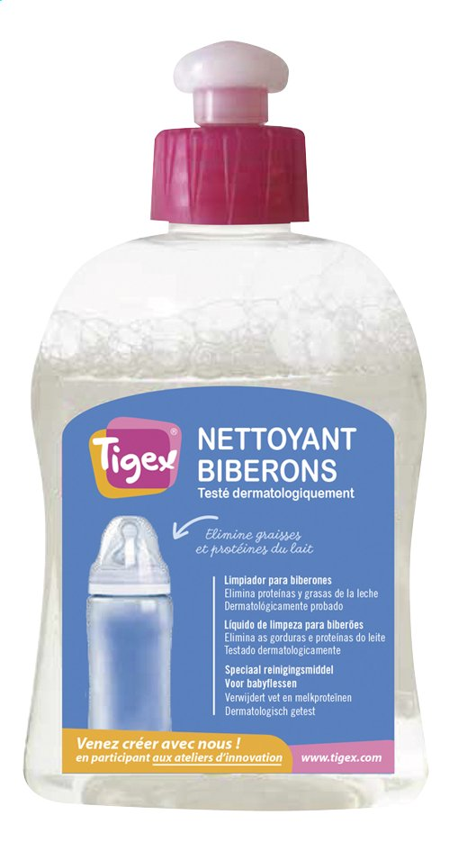 Afbeelding van Tigex Reinigingsmiddel voor zuigflessen 300 ml from Dreambaby
