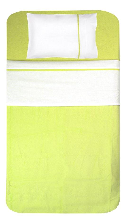 Image pour Jollein Drap pour lit avec liseré Color Basics lime à partir de Dreambaby