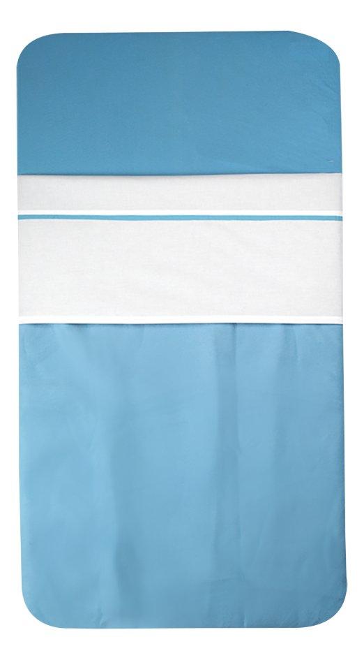 Image pour Jollein Drap pour berceau avec liseré Color Basics turquoise à partir de Dreambaby
