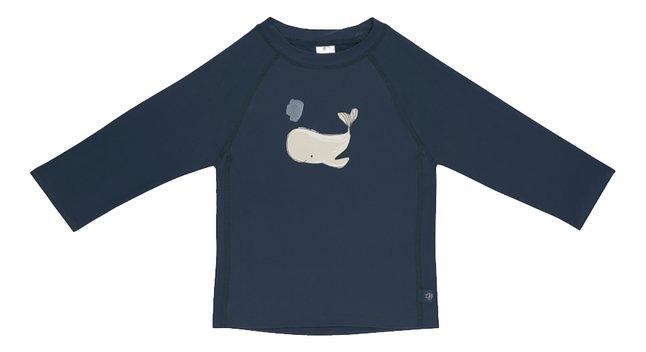 Lässig T-shirt Baleine bleu foncé