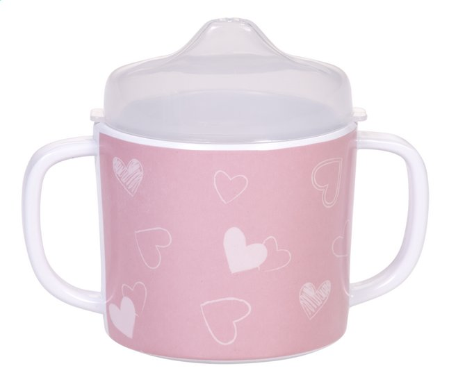 Afbeelding van Dreambee Drinkbeker met tuit Essentials hartje roze 180 ml from Dreambaby