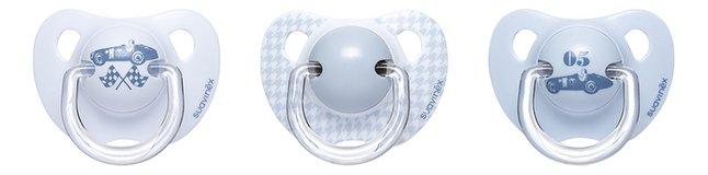 Afbeelding van Suavinex Fopspeen 0 - 6 maanden Rose & Bleu Toys blauw from Dreambaby