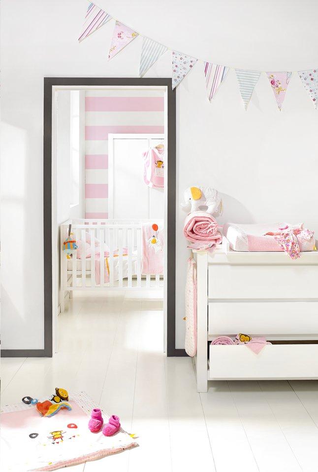 Image pour Chambre de bébé 3 pièces Loft avec armoire 2 portes à partir de Dreambaby