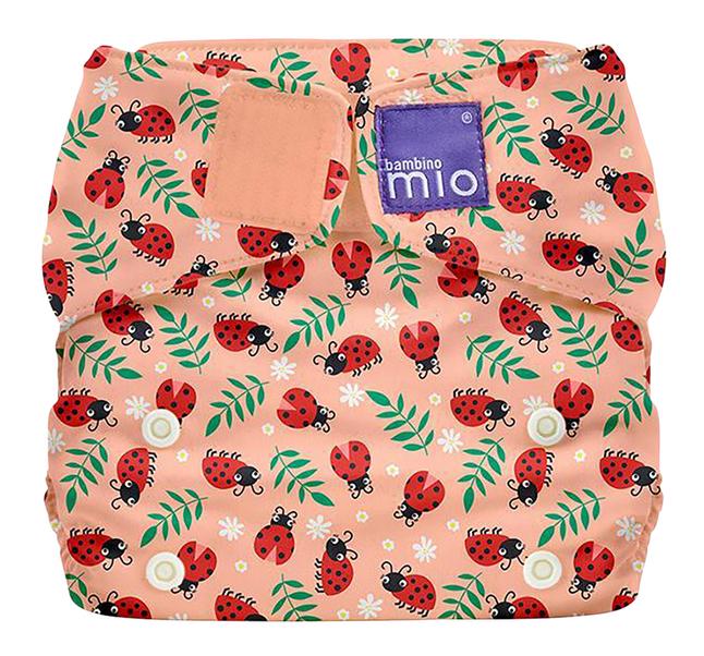 Bambino Mio Lange lavable MioSolo - Loveable Ladybug rose saumon