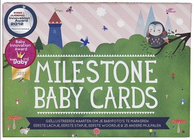Image pour Milestone Baby Cards NL à partir de Dreambaby
