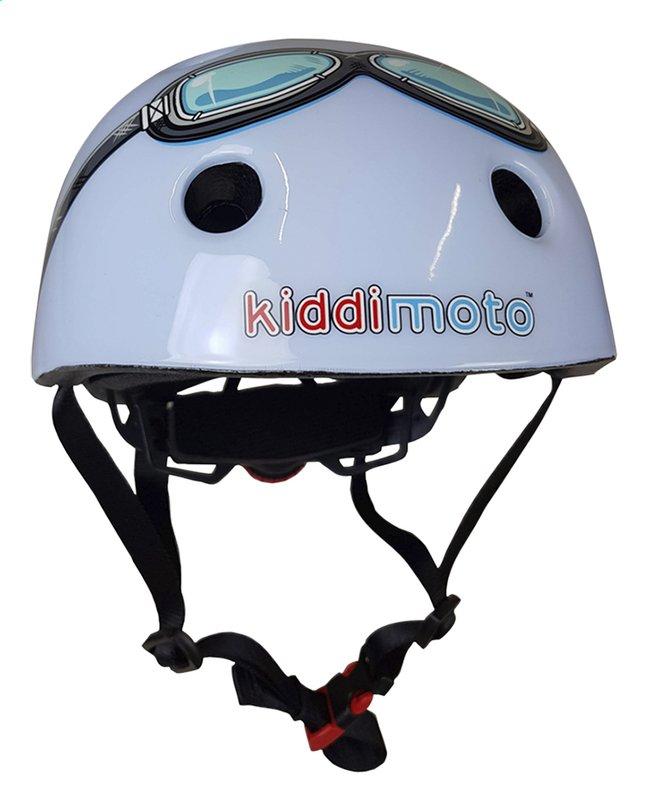 Afbeelding van kiddi moto Kinderfietshelm blue Goggle 44 - 48 cm from Dreambaby