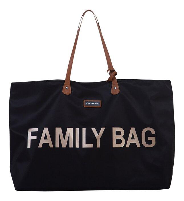 Childhome Verzorgingstas Family Bag zwart/goud