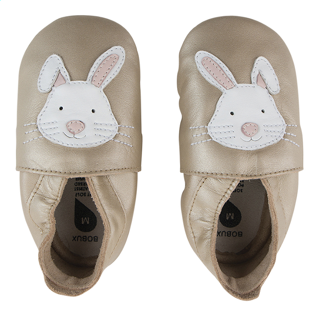 Bobux Chaussons Soft sole lapin or