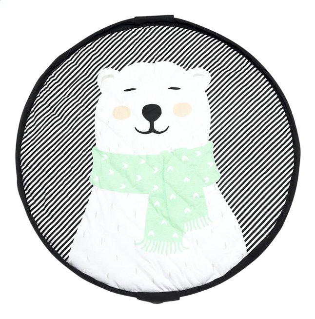 Play&Go Opbergmand/speeldeken Soft ijsbeer