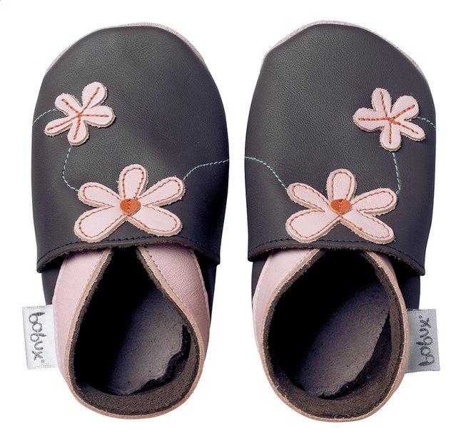 Image pour Bobux Chaussons Soft sole Daisy Chain chocolate pointure 16/17 à partir de Dreambaby