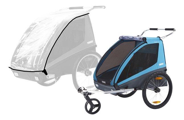 Image pour Thule Remorque de vélo Coaster XT avec habillage de pluie à partir de Dreambaby