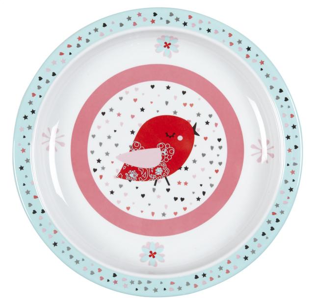 Image pour Lässig Assiette plate Sugarbird rose à partir de Dreambaby