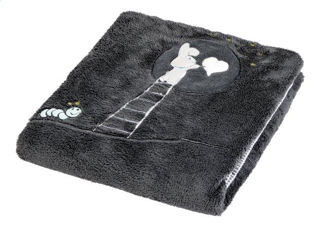 Afbeelding van Dreambee Deken voor bed Nino donkergrijs soft fleece from Dreambaby