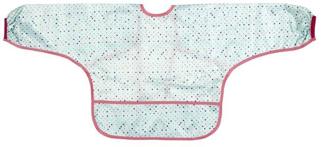 Afbeelding van Lässig Slabbetje met mouwen Sugarbird met koordjes roze from Dreambaby