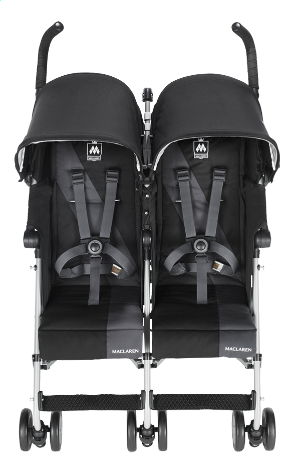 Afbeelding van Maclaren Duobuggy Twin Triumph black/charcoal from Dreambaby