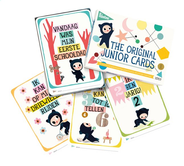 Afbeelding van Milestone Junior Cards from Dreambaby