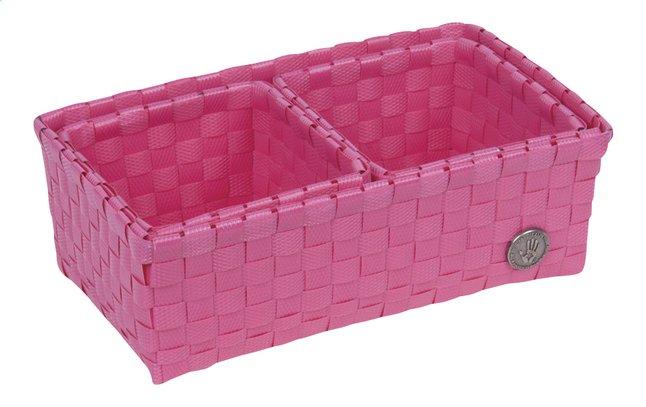 Image pour Handed By Panier de rangement Volterra pink à partir de Dreambaby