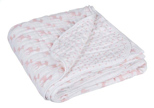 Afbeelding van Lässig Zomerdeken voor bed Lela light pink tetra from Dreambaby