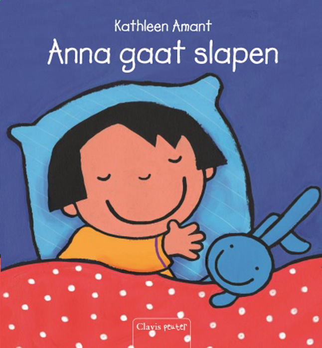 Babyboek Anna gaat slapen