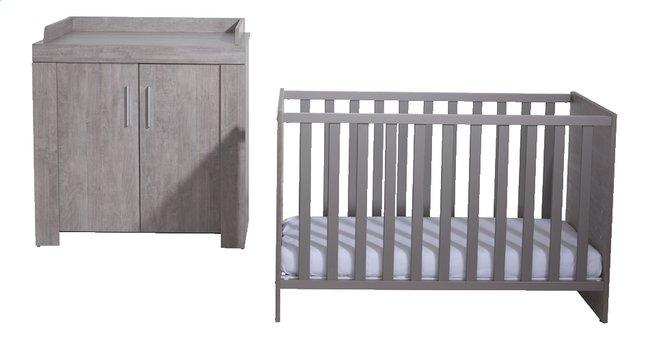 Afbeelding van PAIDI Bed en commode Mirco from Dreambaby