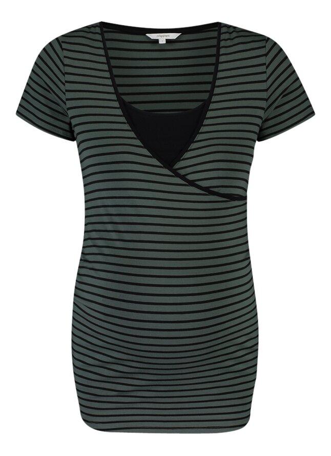 Noppies Mum T-shirt d'allaitement Paris Urban Chic Stripe