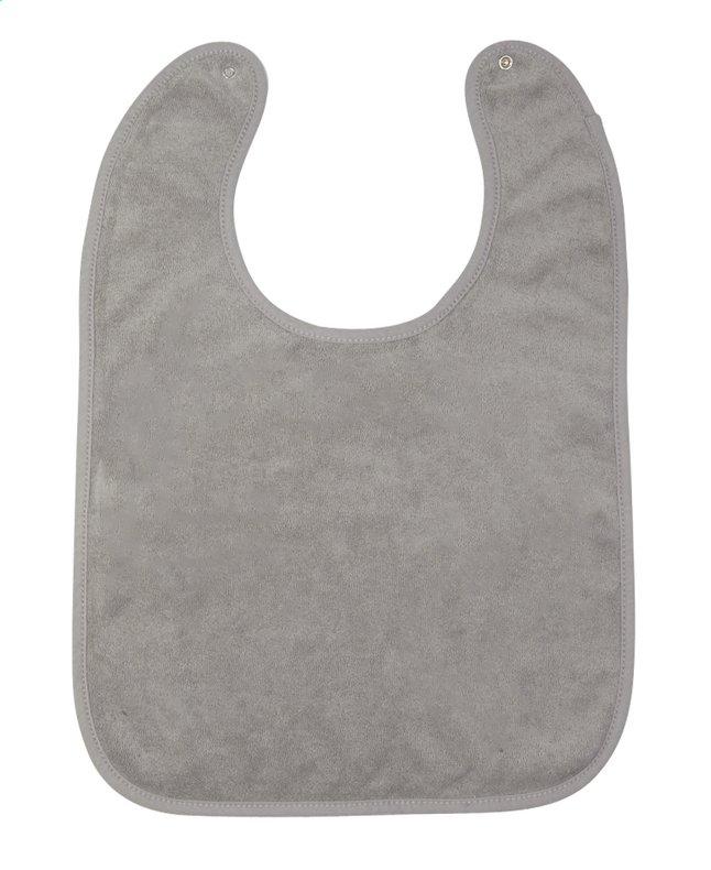 Afbeelding van Dreambee Slabbetje Essentials met drukknoppen grijs from Dreambaby