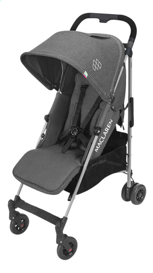 Maclaren Buggy Quest ARC charcoal denim