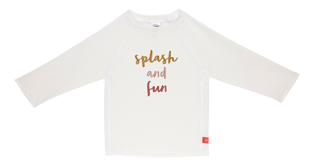 Lässig T-shirt Splash'n fun white/pink