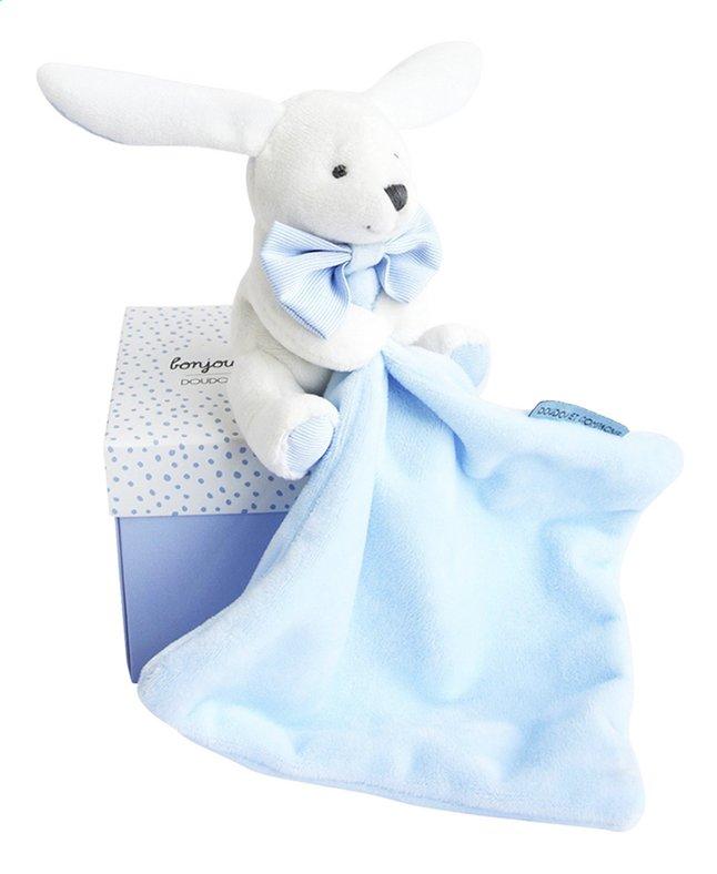 Afbeelding van Doudou et Compagnie Doudou Konijn blauw from Dreambaby