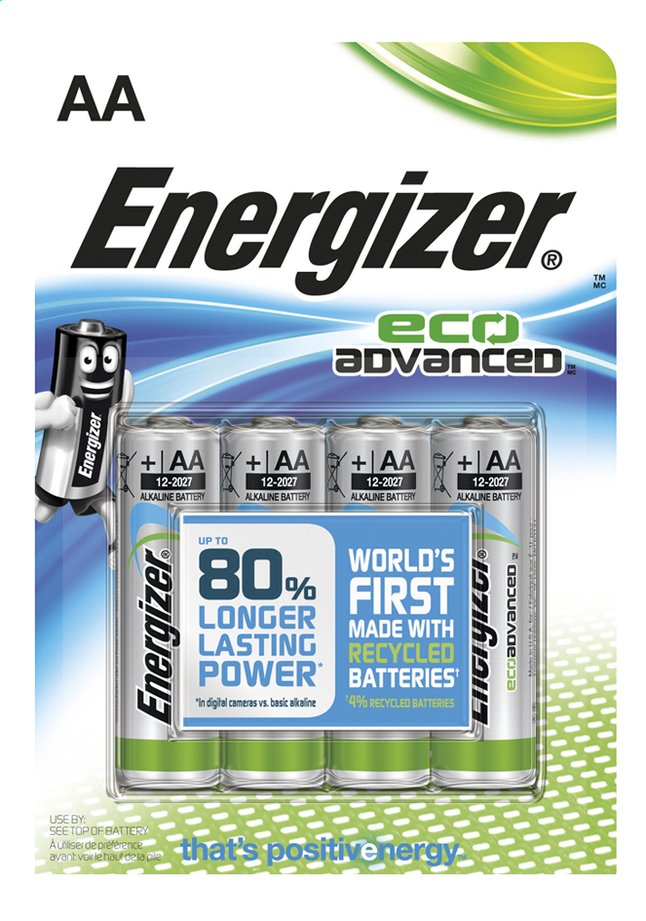 Afbeelding van Energizer 4 AA-batterijen Eco Advanced from Dreambaby